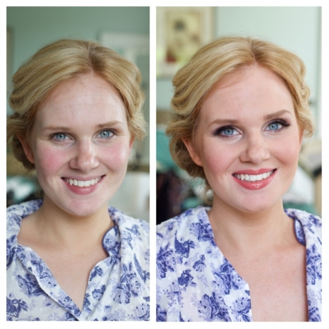 Bride, makeup, wedding