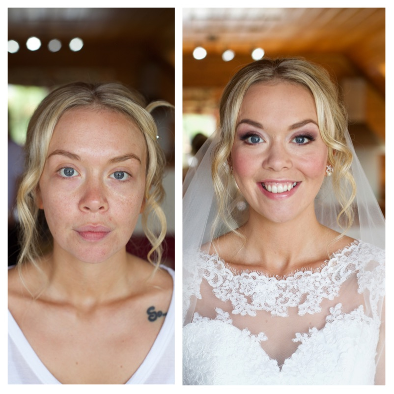 bride, cornwall, makeup artist