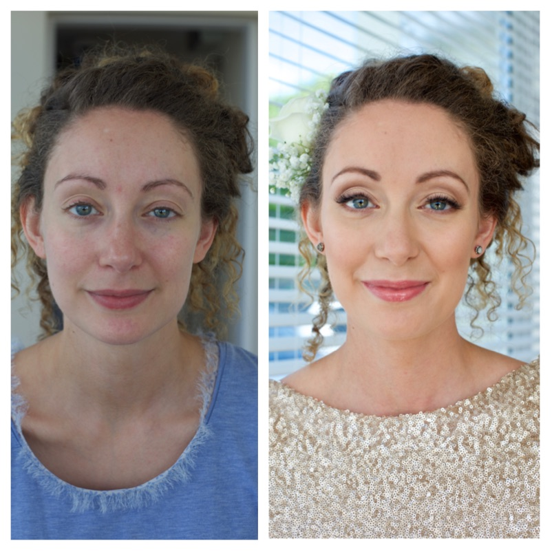 Wedding, bridesmaid, makeup