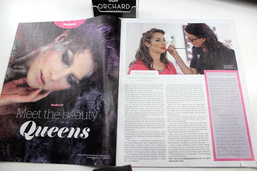makeup artist, editorial