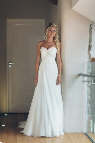 bride, dress, wedding