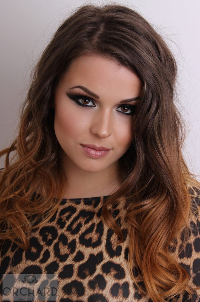Cheryl Cole Inspired Photo Shoot Orchard Makeup