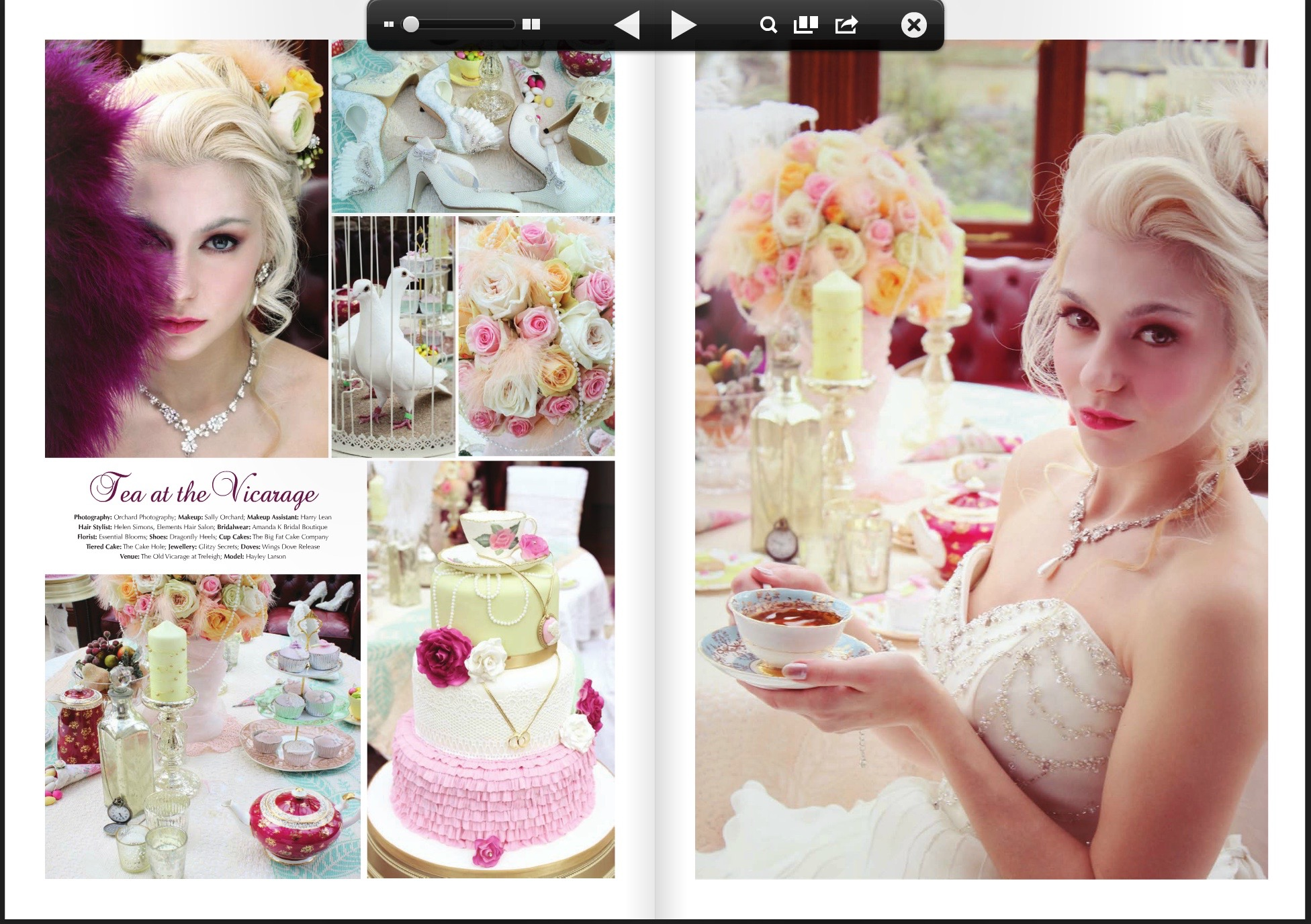 makeup, mua, high tea, photoshoot
