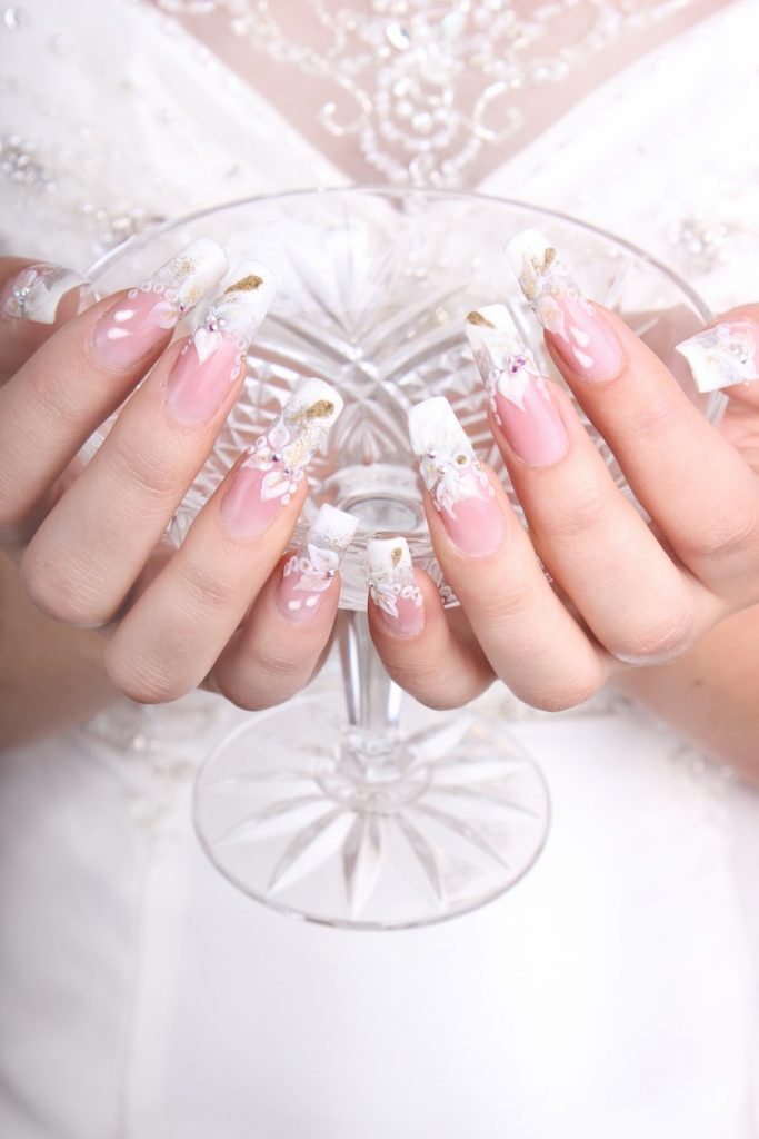 Nails-bridal-shoot