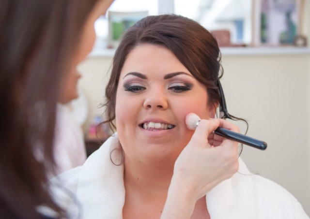 bridal makeup, mua, makeup brush