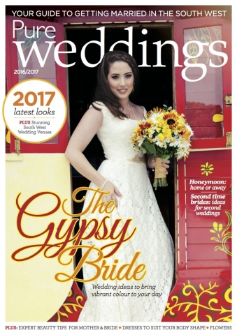 pure weddings, magazine, gypsy