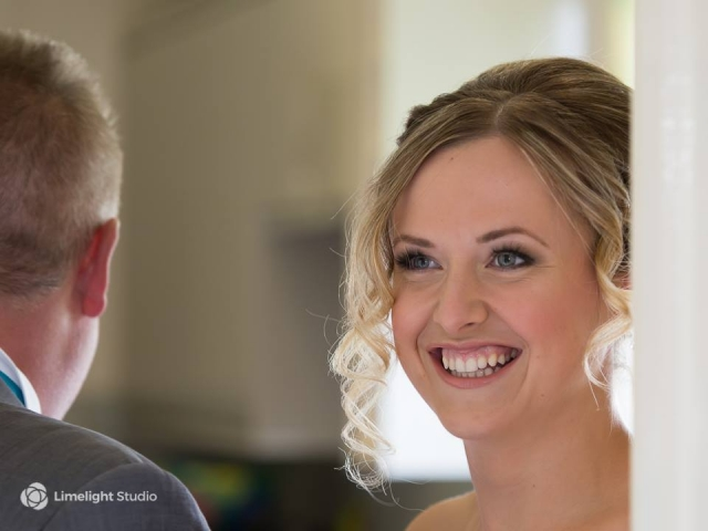 bridesmaid, smile, makeup