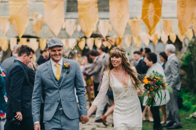 wedding, rustic, yellow