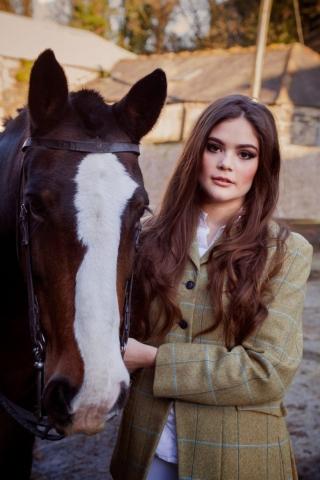 horse, model, fashion