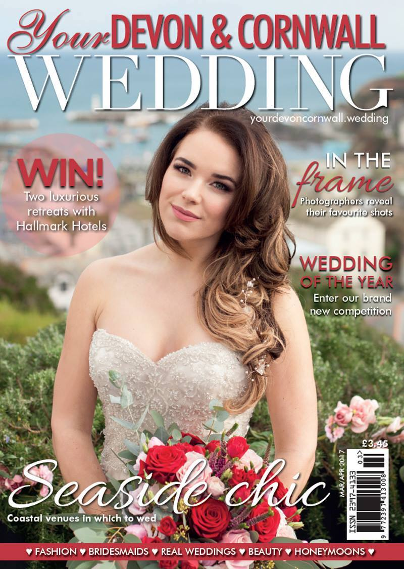 wedding, magazine, cornwall