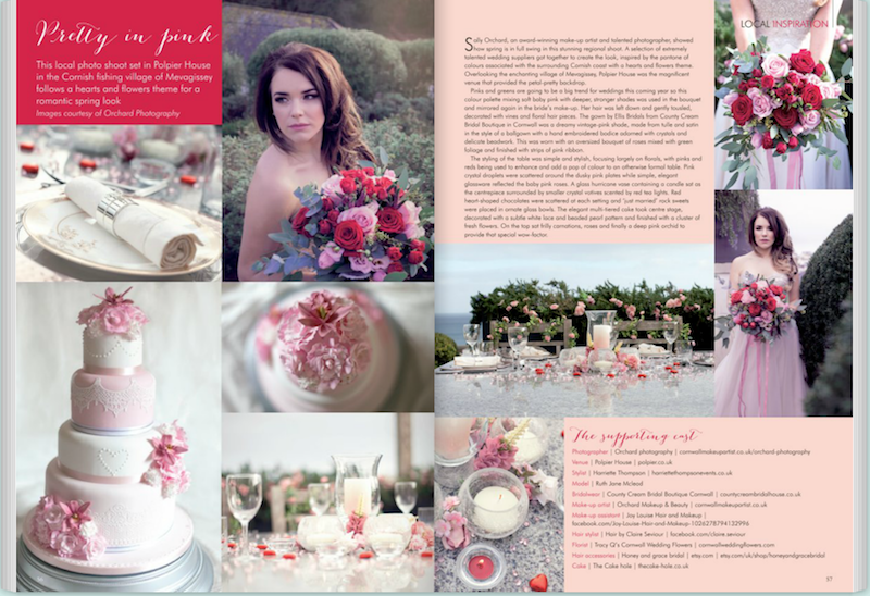 wedding magazine, bridal, makeup
