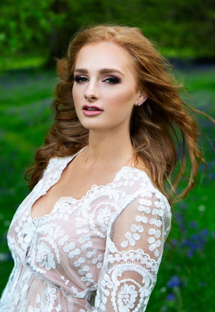 redhead-bridal-boohoo-makeup-bluebells